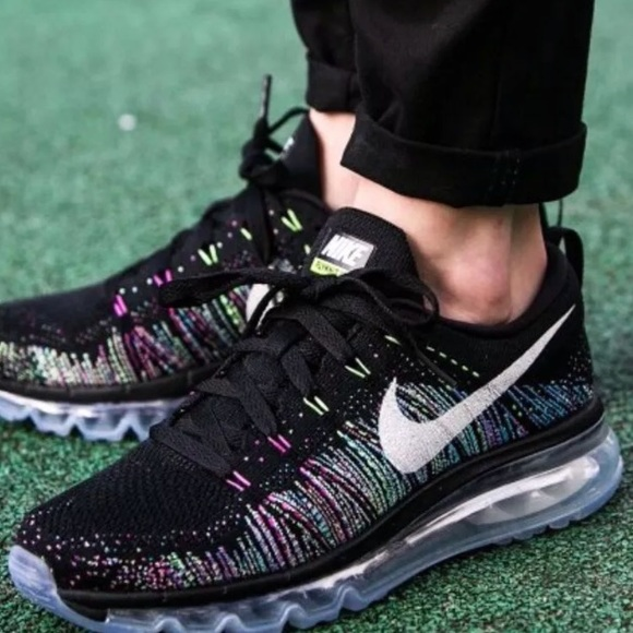 Nike Womens Flyknit Multicolor Air Max